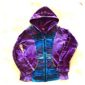 Groovy zip up hoody by Wildhorse